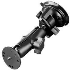 "RAM Mounting Systems RAM-B-166-202AU Ram Mount Twist Lock Universal Suction Cup Mount with 1/4""-20 Stud For Camera"
