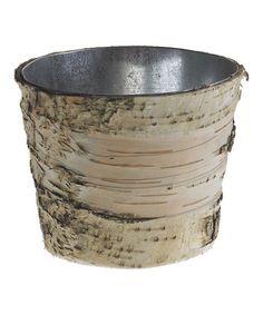 Look at this #zulilyfind! Birch 5'' Pot #zulilyfinds