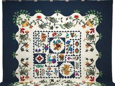 New Wine Quilt -- wonderful smartly made Amish Quilts from Lancaster (hs5742)