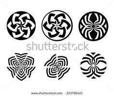 Round Logo, Mandala Pattern, Celtic, Gothic, Spa, Symbols, Block Prints, Craft, Tiles