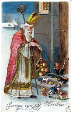Dec 6th :Simple ways to celebrate St. Nicholas Day at home {Dutch heritage}