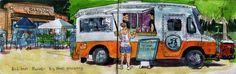 Analog Artist Digital World: Big Wheel Food Truck
