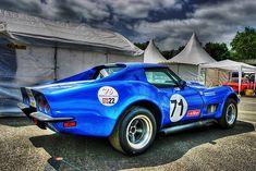 C3 Corvette Racer in HDR