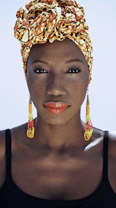 "Black Fashion Week Paris By Adama Paris (designer pictured here) - Funky African Fashions - Funk Gumbo Radio: http://www.live365.com/stations/sirhobson and ""Like"" us at: https://www.facebook.com/FUNKGUMBORADIO"