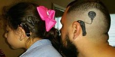 Dad Gets Tattoo Of Daughter's Hearing Aid So She Won't Feel Alone TattooStage.com
