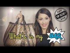 WHAT'S IN MY BAG - dicembre 2016