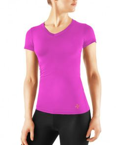 Tommie Copper Women's Recovery Compression Short Sleeve Shirt Pink l $49.50