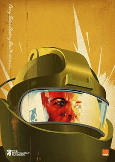 Avatar Tavis Coburn is an illustrator and graphic designer who's created these amazing retro-modern movie illustrations for 2010 British Academy of Best Picture Nominees, Hurt Locker, Alternative Movie Posters, Science Fiction Art, Retro Futurism, Grafik Design, Illustrations Posters, Illustrators, Design Art