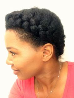 Learn How to French Braid Natural Hair (CurlyinColorado.com)