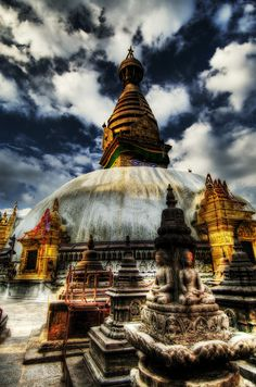 """Love this photo of Swayambhunath """"Monkey"""" Temple - Khatmandu, Nepal"""