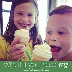 """The question was posed: what if I said 'yes"""" to my kids ALL DAY for one whole day? I bet you'll be as surprised as I was at how the day ended. Are you up for the challenge? Have a #yesmomday today!"""