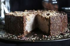 This Rawsome Vegan Life: deep dish chocolate peanut butter ice cream cake