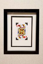 Queen of Hearts wall-art  #Alice, #Art, #Interiors