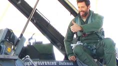 Hugh Jackman Honored To Fly In One Of The Best Jets Ever | World War Wings Videos