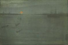 Nocturne: Blue and Gold--Southampton Water; James McNeill Whistler (from The Art Institute of Chicago)