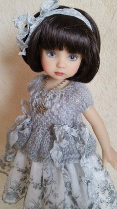 """OOAK Outfit for dolls 13"""" Dianna Effner Little Darling. Hand made. #NFStyle"""