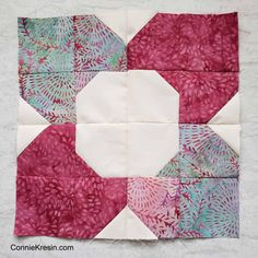 Morning Glory Quilt Block tutorial - Freemotion by the River Scrap Quilt Patterns, Pattern Blocks, Pillow Patterns, Pattern Ideas, Canvas Patterns, Quilt Blocks Easy, Charm Square Quilt, Scrappy Quilts, Small Quilts