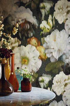 Wallpaper flowers classic romanticism newretro beauty