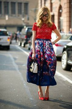Midi Skirts - You Must Have This Spring - Always in Trend | Always in Trend