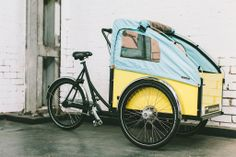 Christiania bike with cover