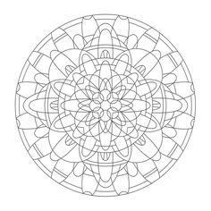 Coloring Mandalas: 25 Svadisthana