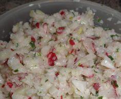 Rezept Kohlrabi-Radieschensalat mit Joghurt von S64 - Rezept der Kategorie Vorspeisen/Salate