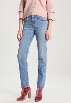 Levi's® 712 SLIM - Jeansy Slim Fit - light-blue denim - Zalando.pl