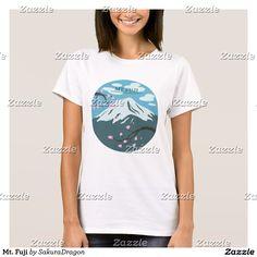 Mt. Fuji T-Shirt #mtfuji #fuji #japan #sakura #cherryblossoms