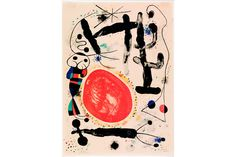 Joan Miró (Spanish, 1893-1983). Le Jour (Day), 1953. Lithograph, edition 74 of 100; unframed: 15 1/4 x 11 inches (38.73 x 27.94 cm).