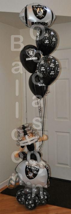 Balloons for a Raider Fan!