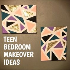 Teenage Room Makeover On A Budget How to redo a teenage girl's bedroom if you're on a budget and/or it's a really SMALL bedroom? Below are some cheap ways to decorate a teenage girl's bedroom that I LOVE! A teens bedroom is their sanctuary, where…