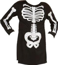 Widmann Disfraz de esqueleto para niña