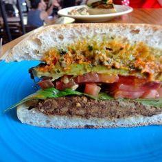 King of veggie sandwiches