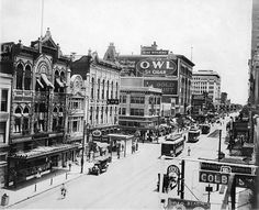 Downtown Houston Texas 1920's