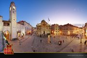 Gorgeous Old Town Dubrovnik. Rocco and Justine flee through this area at night.