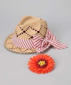 Take a look at this Natural Colline Hat by Grace Hats on #zulily today! $17.99
