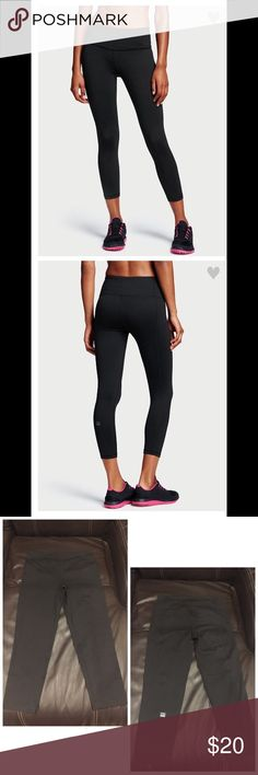 Victoria Secret Knockout by Victoria Sport Capri. Victoria Secret Knockout by Victoria Sport Capri. Brand New only been worn to try on. They don't fit me 😞 and I don't have the receipt to take back. Size small. Victoria's Secret Jeans Ankle & Cropped