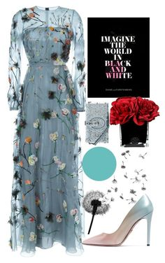 """estimate"" by hanii-omachiss ❤ liked on Polyvore featuring Valentino, Prada, Hervé Gambs, Dolce&Gabbana and Wall Pops!"