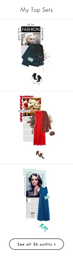 """""""My Top Sets"""" by eve-angermayer ❤ liked on Polyvore featuring Zara, Alexander Wang, Burberry, Alaïa, MANGO, BCBGMAXAZRIA, National Tree Company, Warehouse, Chalayan and Rochas"""