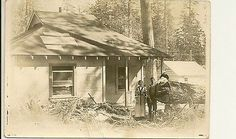 Westwood California, Red River, Good Ole, 16 Year Old, Photo Postcards, Vintage Pictures, Logs, Husband, Cottage