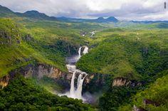 Parque Nacional da Chapada dos Veadeiros, Estado de Goiás, Brasil. Foto: Site Thousand Wonders.