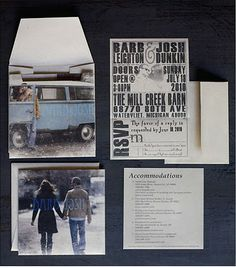 Wedding Album Cover Wedding Invite #inspiration for next project
