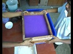 Tutorial & instructions for making a mold and deckle for hand papermaking. The cheap, quick, and easy way - make handmade paper at home today! Learn about ha...