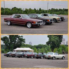 """Photo by @retro_benz #c107 #r107 #w107 #w107club #sl #slc #w114coupe #w114… Mercedes Benz R Class, Mercedes Slc, Classic Mercedes, Car Car, Cool Cars, Classic Cars, Automobile, Retro, Instagram Posts"