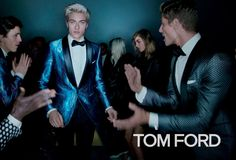 Lucky Blue Smith fronts the Spring/Summer 2016 campaign of Tom Ford, captured by Nick Knight.