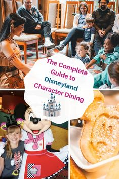 How to choose the best Disneyland Character Dining for your family. There are 5 super fun character dining experiences at Disneyland. Including an amazing Princess Breakfast. Disneyland Character Dining, Disneyland Dining, Disneyland Restaurants, Disneyland Food, Disneyland California, Disney Dining, Disney Vacation Club, Disney Vacations, Disney Travel