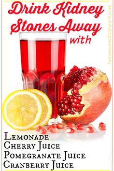 drink kidney stones away