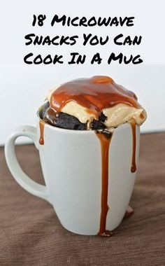 Mug Cake Recipe Chocolate.Chocolate Peanut Butter Mug Cake The Novice Chef. Instant Hot Chocolate Mug Cakes. Mug Cake Cookie Moelleux Sans Oeuf : Recette De Mug Cake . Mug Recipes, Sweet Recipes, Cooking Recipes, Cake Recipes, Recipies, Cooking Tips, Cooking Games, Yummy Snacks, Delicious Desserts