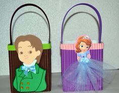 Sofias birthday favors for boys and girls