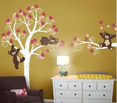 Vinyl Wall Decal stickers living room bed baby by feelshop008, $97.00
